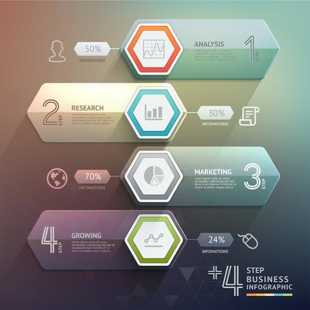 infografica: Step up 3d diagramma di scala freccia affari. Illustrazione vettoriale. può essere utilizzato per il layout del flusso di lavoro, banner, opzioni di numero, intensificare le opzioni, web design, infografica.