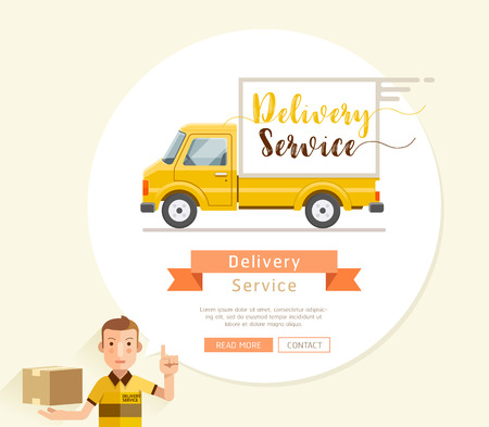 delivery icon: delivery, truck, icon, van, service, shipping, vector, cargo, transport, courier, transportation, symbol, illustration, vehicle, package, business, design, car, deliver, fast, freight, free, flat, box, auto, post, white, background, isolated, concept, dis
