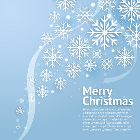 Merry Christmas art. Vector and illustration. Illustration