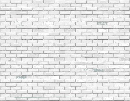 Weiße Backsteinhintergrundillustration.