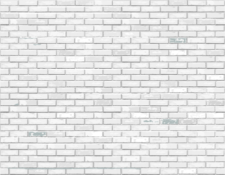 White brick background illustration. Banco de Imagens - 100212589