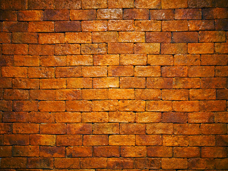 Old brick wall pattern background.