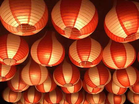 Paper Lanterns background