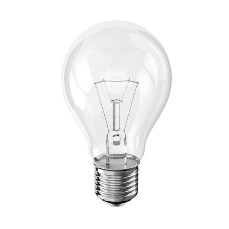 Light bulb 3D illustration 免版税图像