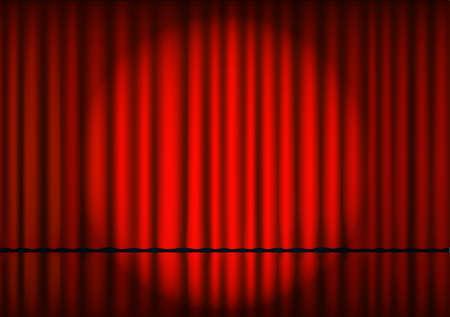 Cinema theater frame retro
