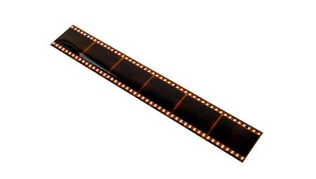 film isolated on white background