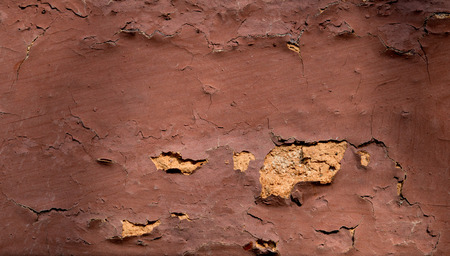 Close-up brick wall texture with cracks.with copy space Stock Photo