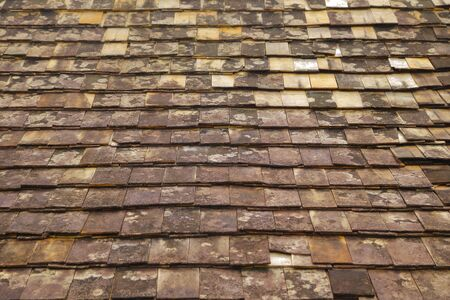 Old Roof tiles  texture. Abstract background 版權商用圖片