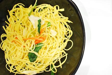 Stir-fried noodles.