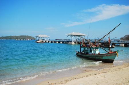 Thailand eastern beach,at Koh-Srichang