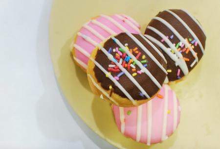 sweet with coffee break Stock Photo