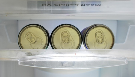 Top of an unopened  can  Editorial