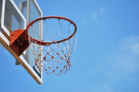 A basket ball hoop photo