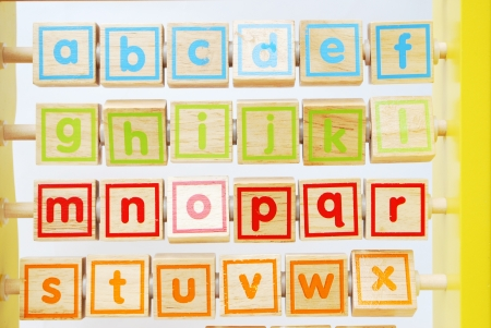 a b c alphabet for children photo
