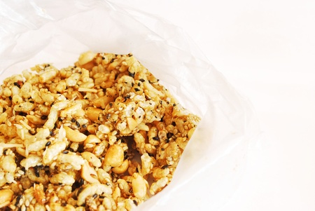 compressed rice: Thai cereal sweet