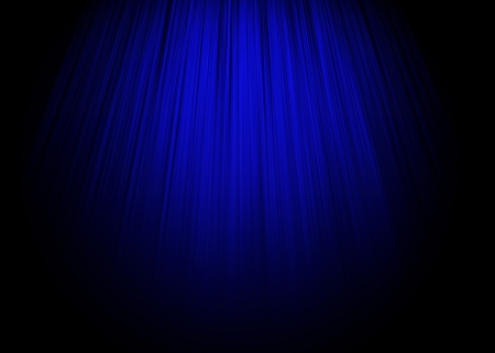 Blue stage background  Stock Photo