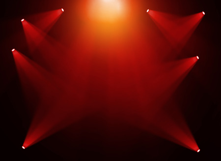 red gold: Red gold stage background