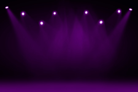 sparkle background: Purple stage background