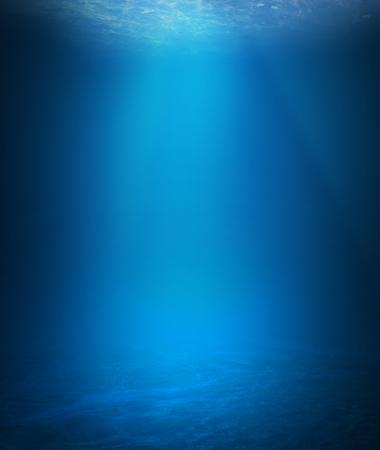 Onderwater achtergrond Stockfoto