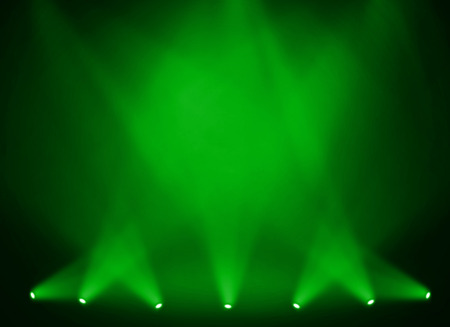 Green stage background
