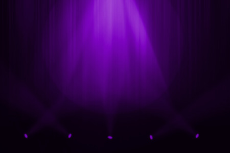 shiny black: Purple stage background