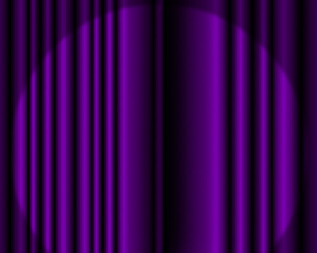 Purple stage curtain background