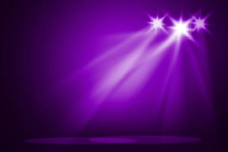 Purple stage background