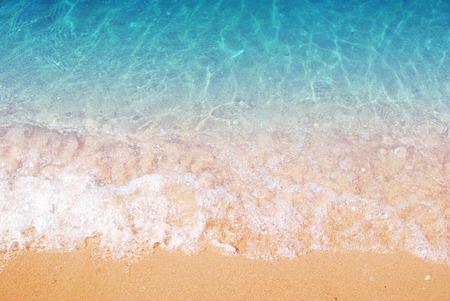 vague: Vague, Sable fond de plage Banque d'images
