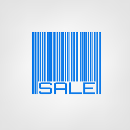 Bar code with sale or discount label