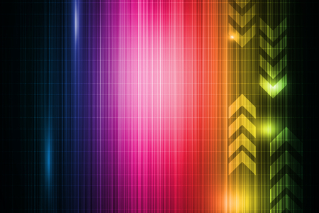 Colorful abstract technology background Stock Photo