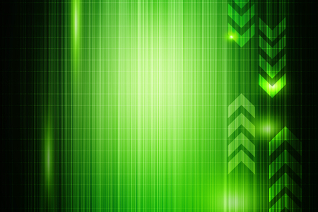 technology abstract background: Green abstract technology background