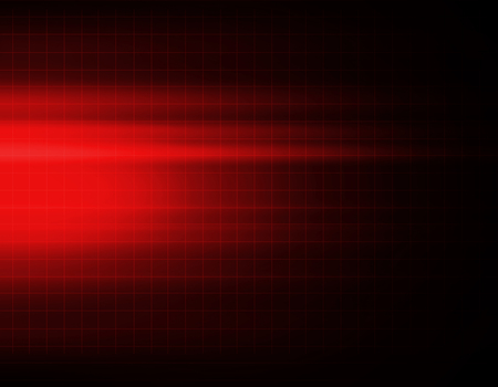 Red abstract technology background Archivio Fotografico