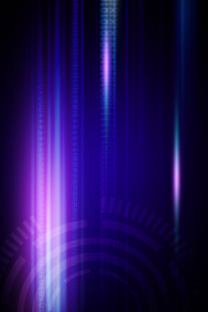 technology abstract background: Blue abstract technology background Stock Photo