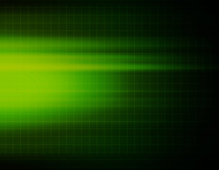 science and technology: Green abstract background