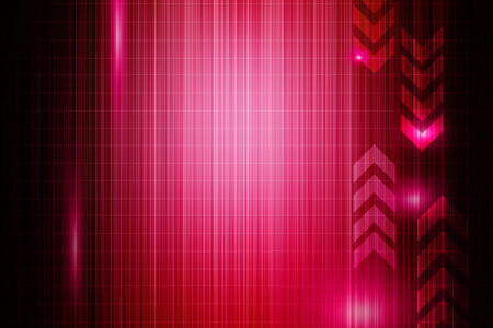 technology abstract background: Pink abstract technology background Stock Photo