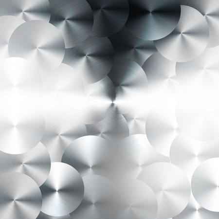 machine tools: Brushed metal background with machine tools pattern style. Stock Photo