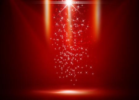 Seasonal greetings with Christmas background