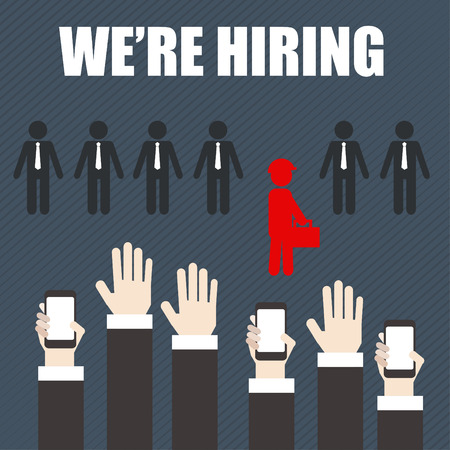 business opportunity: Job Search Career Hiring Opportunity ,business concept.