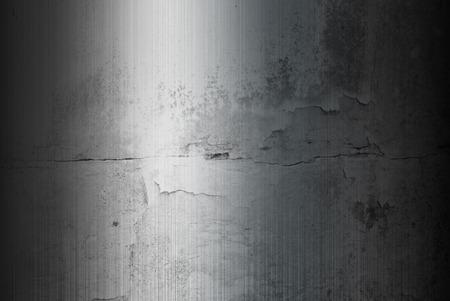brushed: Grunge Brushed metal background. Stock Photo