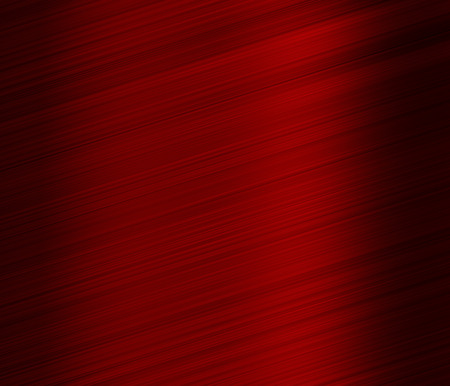 red metal: Brushed red metal, Christmas or Valentines background Stock Photo