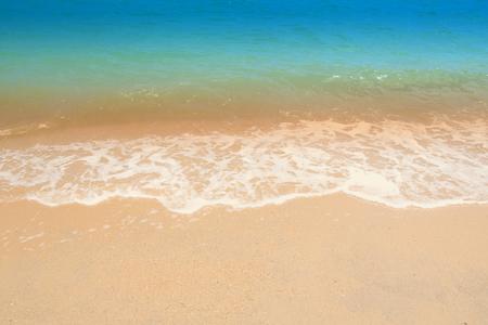 Wave & Sand beach background