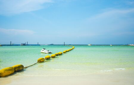 Ta Waen beach of Koh Larn from Pattaya Chonburi Thailand