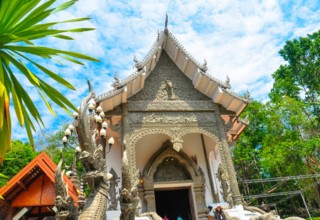 The Beautiful of Wat Phrathat Pha-Ngao is public temple in Chiang san, Chiang Rai,Thailand. photo