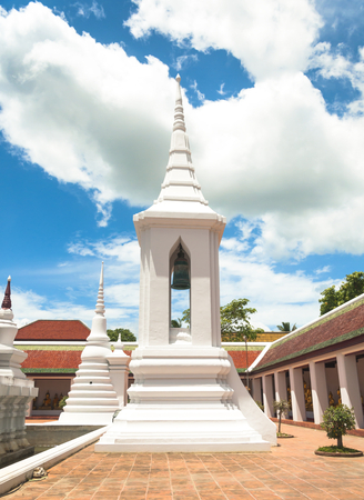 thani: Campanile at Wat Phra Borommathat Chaiya is public temple in Chaiya districtSurat Thani province South of Thailand.
