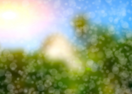 debonair: Colorful of soft and blurred bokeh  background. Stock Photo