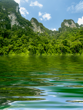 debonair: Beautiful Surface Rippled of water and nature background Stock Photo