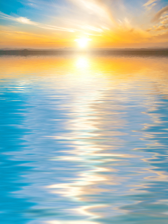 debonair: Beautiful Surface Rippled of water and sky background