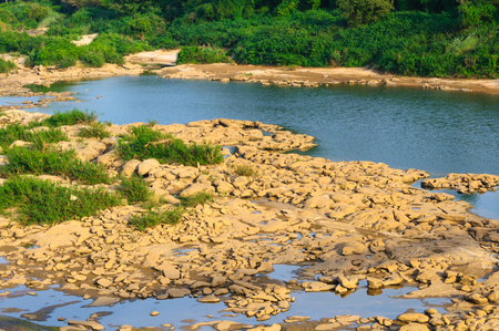 kaeng: Landscape of Canyon at Kaeng Tana in Ubonratchatani,Thailand