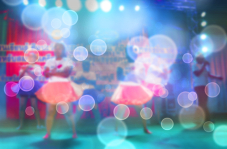 Abstract blurred background Entertainment Concert Stock Photo - 110684245