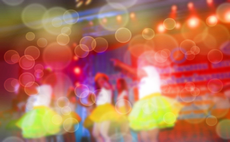 Abstract blurred background Entertainment Concert Stock Photo - 110684242